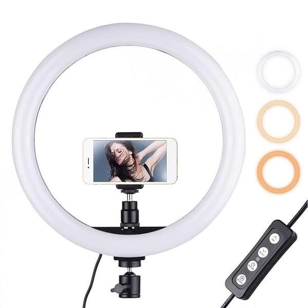 Ring Light For Video Maker  with Mobile Holder   Best For YouTubers, Tiktokers & Make up Artist